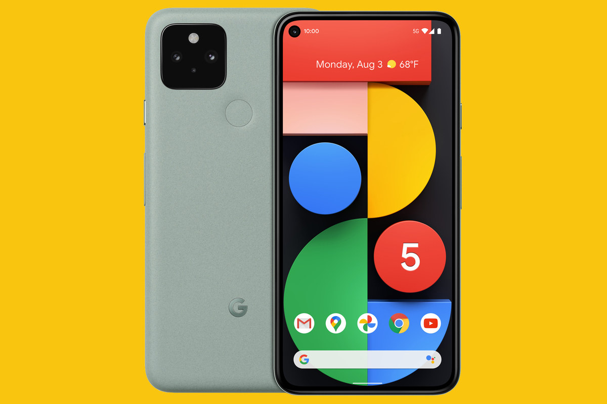 TECH CITY – Google Pixel 5