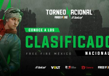 Clasificatorio Torneo Nacional Free Fire Telcel