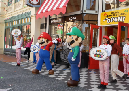 Mario Cafe opening
